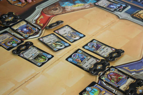 Play Hearthstone with real cards in this knockoff - Polygon
