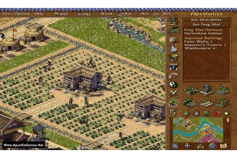 Emperor: Rise of the Middle Kingdom PC Game - Free ...