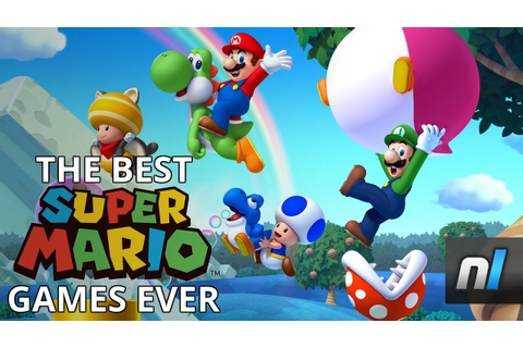 Top 10 Super Mario Games - As Chosen By Nintendo Life ...