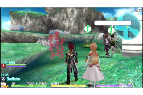 Sword Art Online: Hollow Fragment US English Vita Gameplay ...
