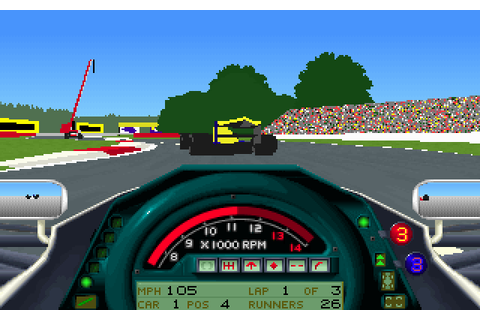 Formula 1 Grand Prix (1993) by Microprose MS-DOS game