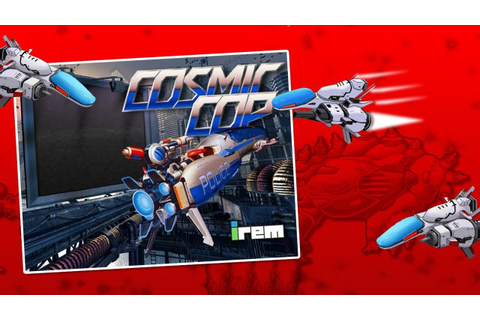 "Cosmic Cop "" Irem (1991)"" ≡ Scrolling shooter Arcade Game ..."