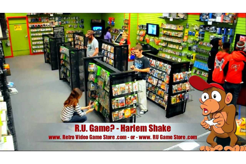 RU Game Video Game Store Does the Best Harlem Shake! - YouTube