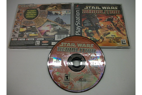Star Wars Demolition, PlayStation 1 game