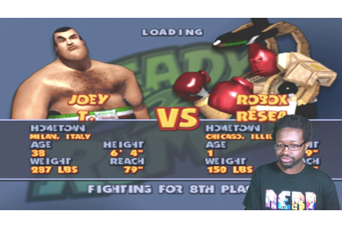 Ready 2 Rumble Boxing Round 2 - Joey T. Playthrough (New ...