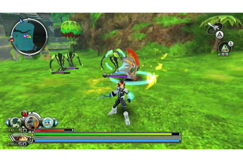 Spectrobes Origins Wii Gameplay - YouTube