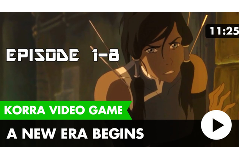 The Legend of Korra Video Game: A New Era Begins [Cut ...