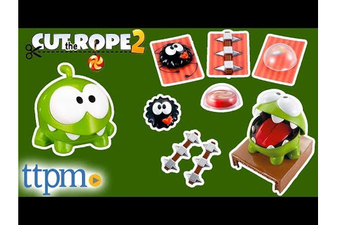 Cut the Rope Game from Mattel - YouTube