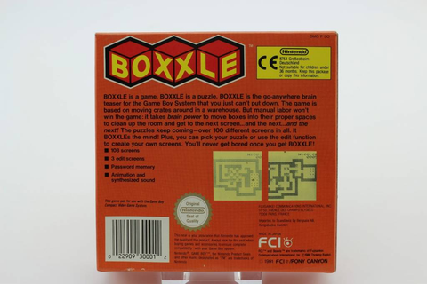 Boxxle (Gameboy Classic) Boxed - Epic Games