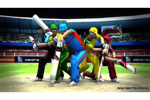World Cricket Championship 2 - Game Trailer - YouTube