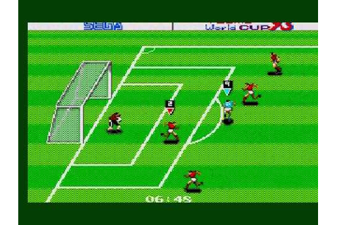 Tecmo World Cup '93 Game Sample 2/2 - Sega Master System ...