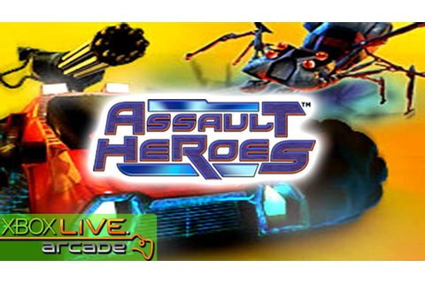 Assault Heroes - X360 XBLA Gameplay (XBOX 360 720P) - YouTube
