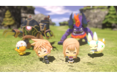 World of Final Fantasy Wallpaper and Background Image ...