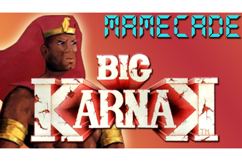 Big Karnak Arcade Game Review - MAMECADE - YouTube