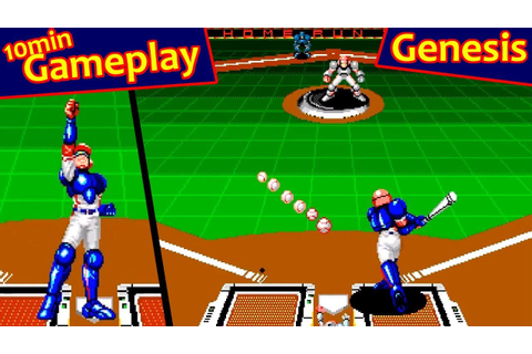 Super Baseball 2020 ... (Sega Genesis) - YouTube