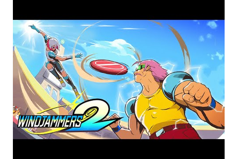 Windjammers 2 - Announcement Trailer - YouTube
