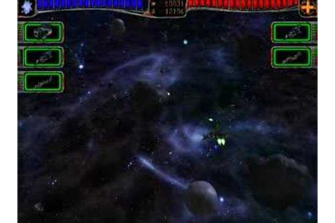 AstroMenace game (3D space shooter). - YouTube