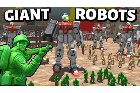 GIANT Gundam Robot Transformers ! - Army Men (AMOW) (ww2 ...