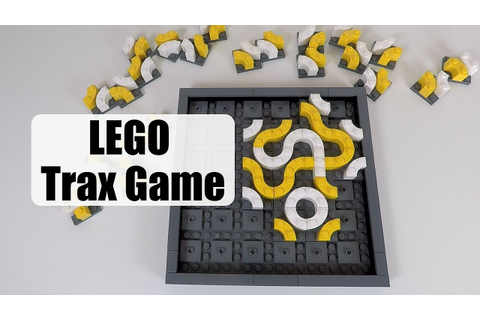 LEGO Trax - Abstract Strategy Game - YouTube
