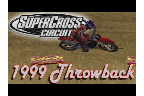 Flashback to 1999! | Supercross Circuit Gameplay | AMA ...