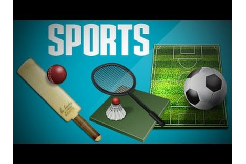 Indoor And Outdoor Games And Their Equipments - YouTube