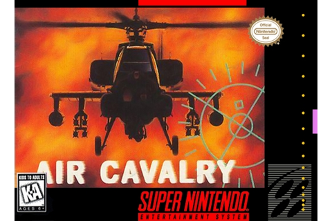 Air Cavalry SNES Super Nintendo