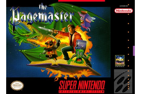 Pagemaster SNES Super Nintendo