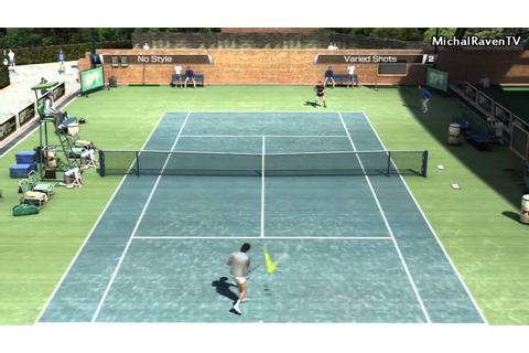 Virtua Tennis 4 World Tour Demo PS3 - Tournament - YouTube