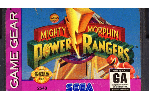 Classic Game Room - MIGHTY MORPHIN POWER RANGERS Sega Game ...
