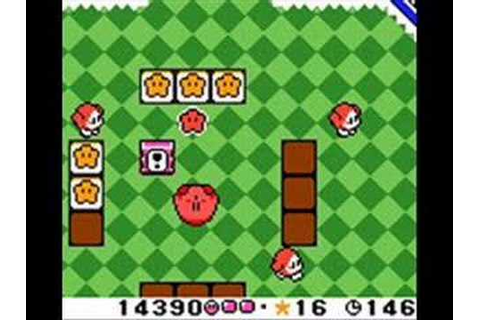 Kirby Tilt 'n' Tumble - Game Over - YouTube