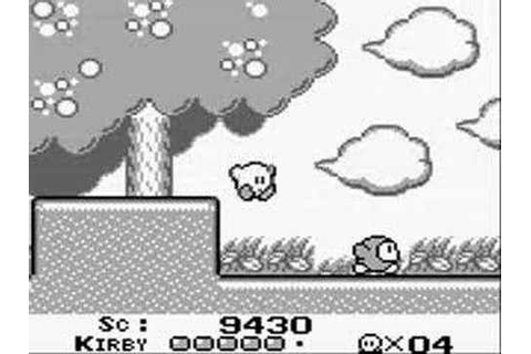 Kirby's Dream Land Part 1: Green Greens - YouTube