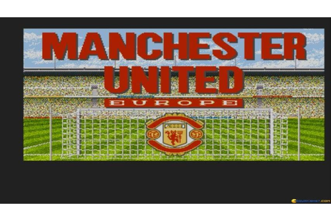 Manchester United Europe gameplay (PC Game, 1991) - YouTube