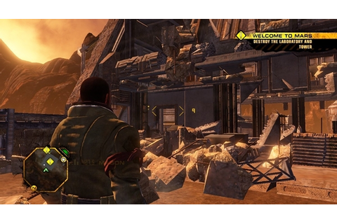 Red Faction Guerrilla Game - Free Download Full Version For PC