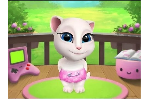 My talking Angela - kid games (ep 2) - YouTube