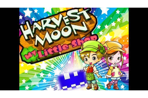 Harvest Moon My Little Shop (Wii) en español - YouTube