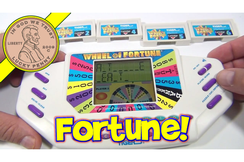 Wheel Of Fortune Handheld Electronic Game #7531, 1995 ...