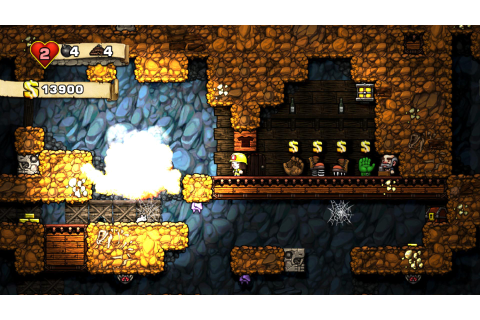 Spelunky (2013) – PC – not quite a review | ArcadeLife ...