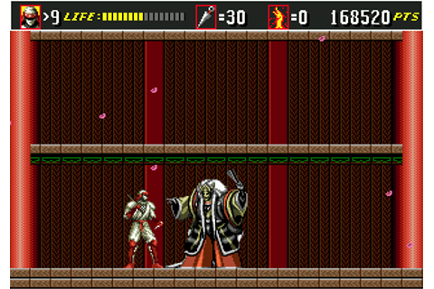 Shinobi III: Return of the Ninja Master (Genesis) - My ...