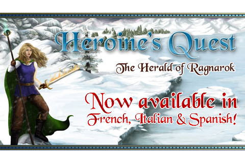 Heroine's Quest - new translations available news - Mod DB