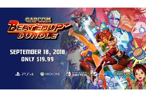 Capcom Beat Em' Up Bundle Announced for Switch ...