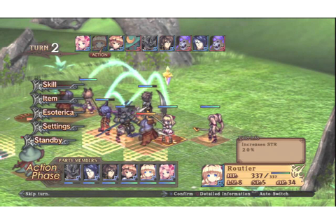 Agarest War Zero Gameplay - YouTube
