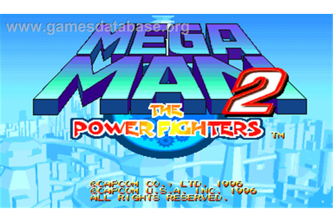 Mega Man 2: The Power Fighters - Arcade - Games Database