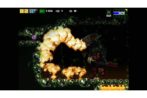AM2R (Another Metroid 2 Remake) - Omega Metroid battle ...
