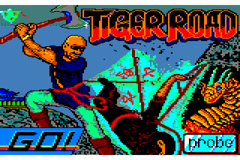 Tiger Road (1988) by Probe Software Amstrad CPC game