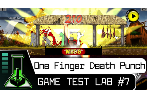 #7: One Finger Death Punch[Gameplay] - YouTube