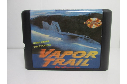 Vapor Trail fan made reproduction Sega Genesis Mega Drive