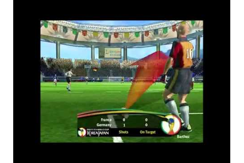 Fifa World Cup 2002 (Video Game) - PC Gameplay - YouTube