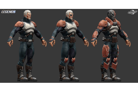 ArtStation - DC Legends (Mobile game) - Characters ...