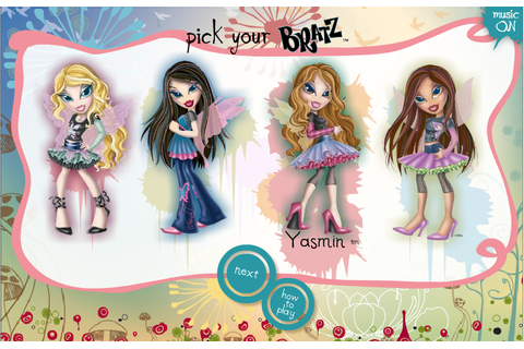 Bratz Tween Play Brats Dress | lil bratz fashion mall ...