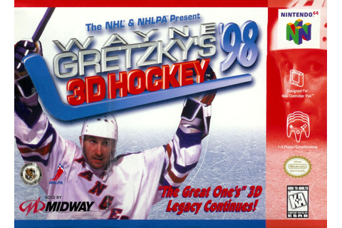 Wayne Gretzky's 3D Hockey 98 Nintendo 64 Game